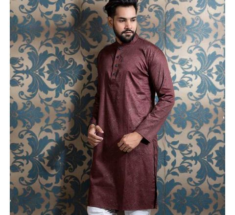 Cotton Fashionable New Men's Panjabi RR26