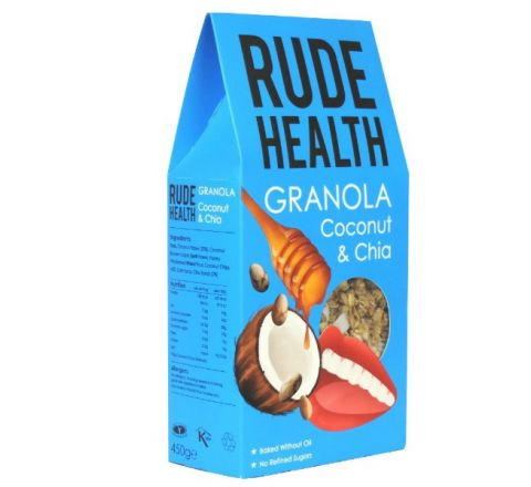 Rude Health Coconut And Chia Granola 450G