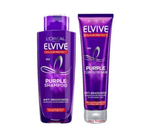 L'oreal Elvive Purple Shampoo & Conditioner 200ml