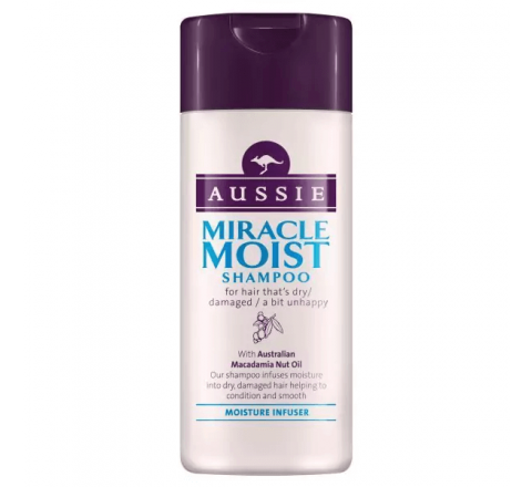 Aussie Miracle Moist Shampoo 75ml
