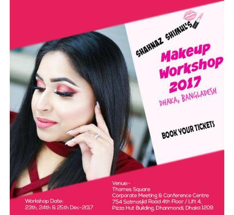 Shahnaz Shimul's Makeup Workshop-2017