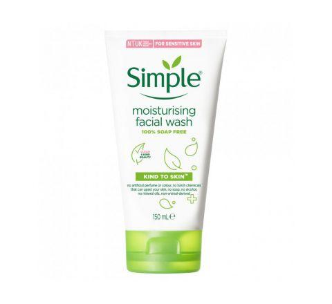Simple kind to Skin Moisturizing Facial Wash for sensitive skin  150ml