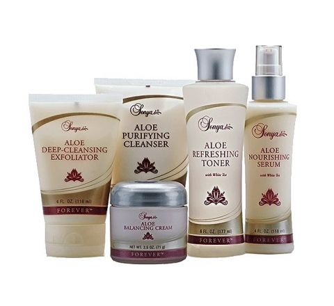 Forever Living Sonya Skin Care Collection- Healthy Life