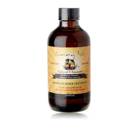 Sunny Isle Jamaican Black Castor Oil - 100% Pure Castor Oil For Hair Growth - 118.3ml (4 FL OZ)
