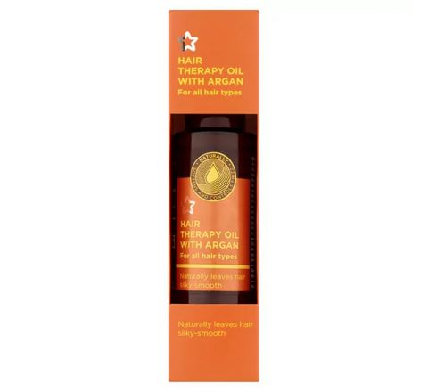 Superdrug Hair Therapy Oil with Argan 50ml