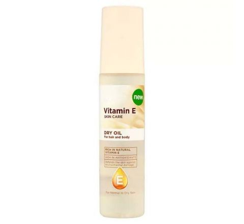 Superdrug Vitamin E Hair and Body Oil 75ml