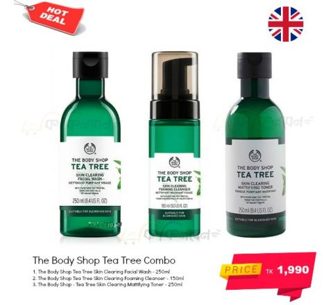 The Body Shop Tea Tree Skincare Combo