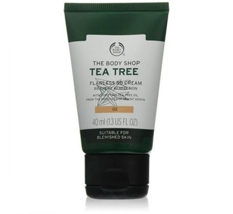 The Body Shop Tea Tree Flawless BB Cream - 02 Medium (40ml)
