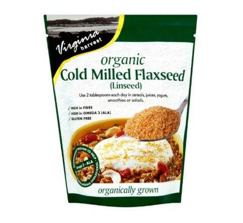 Virginia Harvest Organic Cold Milled Flaxseed 200g