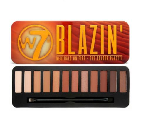 W7 Blazin Eye Color Eye-shadow Palette 15.6g