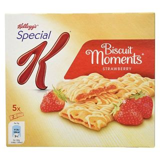 Kelloggs Special K Biscuit Moments Strawberry 125G - 5 Pack 25g