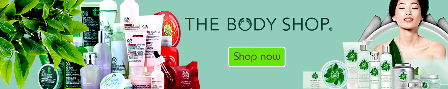 The Body Shop in Bangladesh at Kikinben