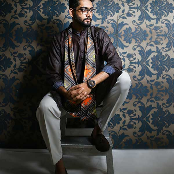 Eid Exclusive Brown Men's Panjabi