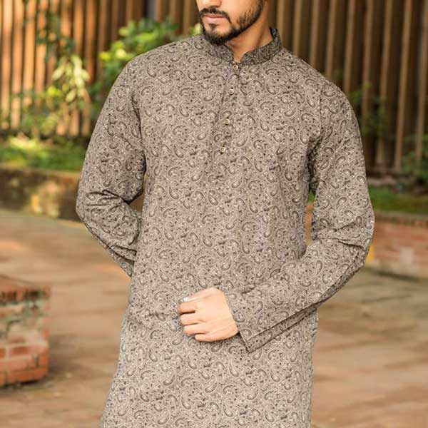 Eid Exclusive Ash Men's Panjabi POP-3