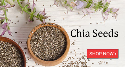Chia Seeds 100gm - High in Fibre
