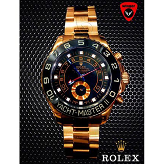 ROLEX YACHT-MASTER II WATCH (BLACK)