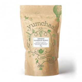 Yumchaa Tea Ginseng Guardian Blend Loose Leaf Green Tea 80g